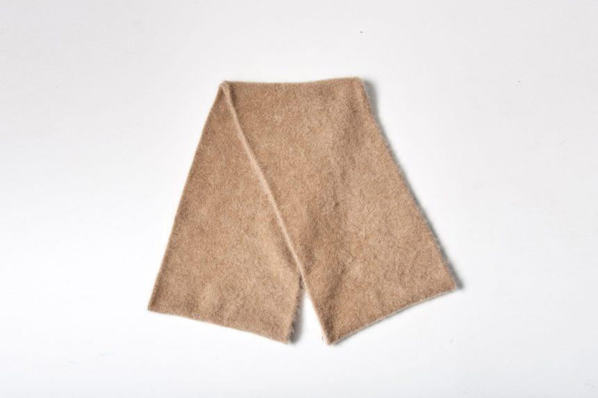 cashmere snood (Camel)