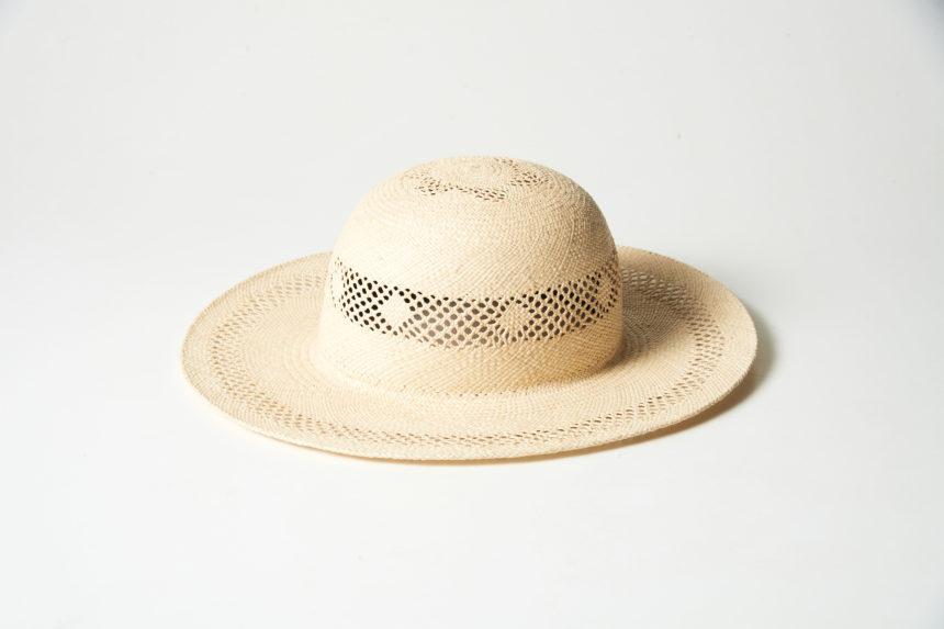 panama lace hat (natural)