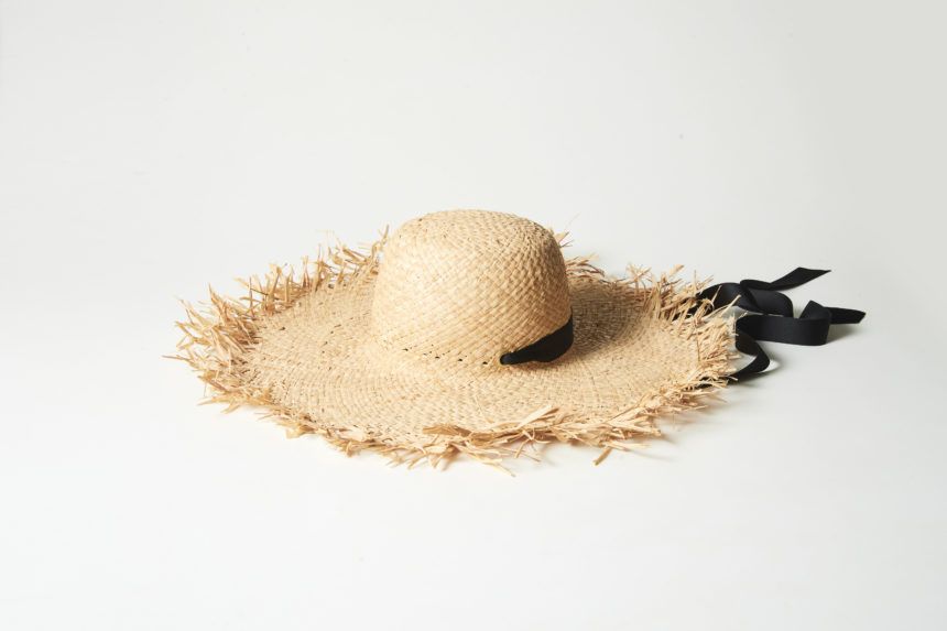 raffia hat(natural)