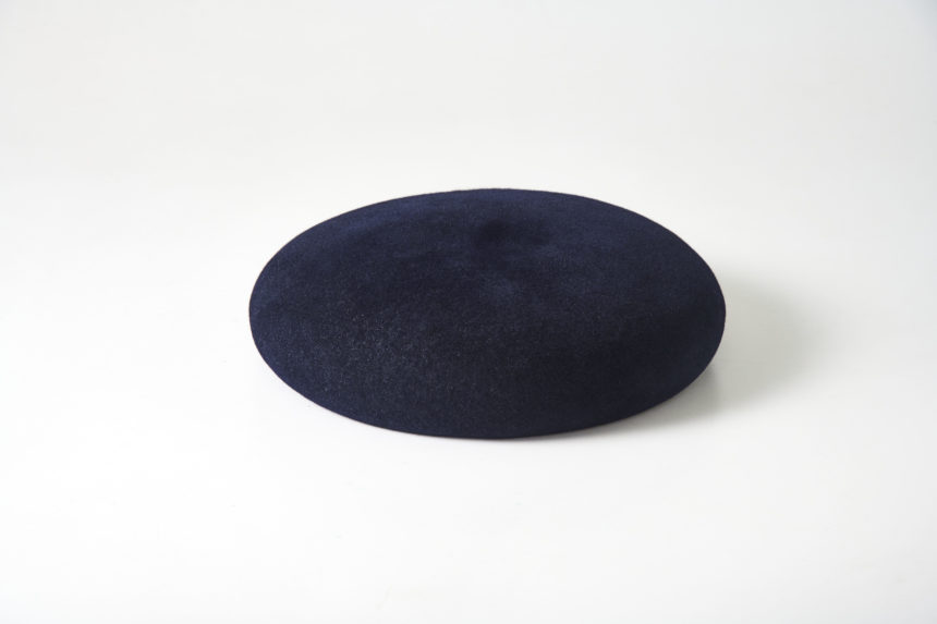 rabbit beret (Navy)
