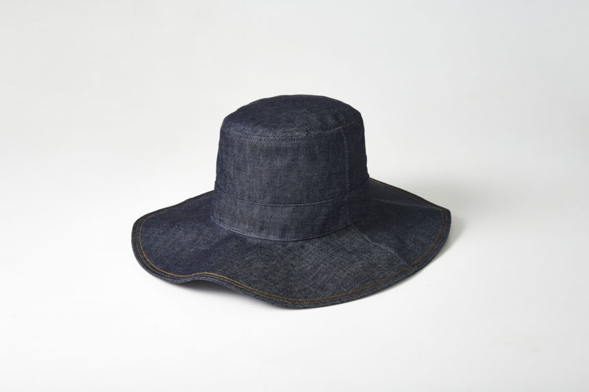 denim hat (Blue)