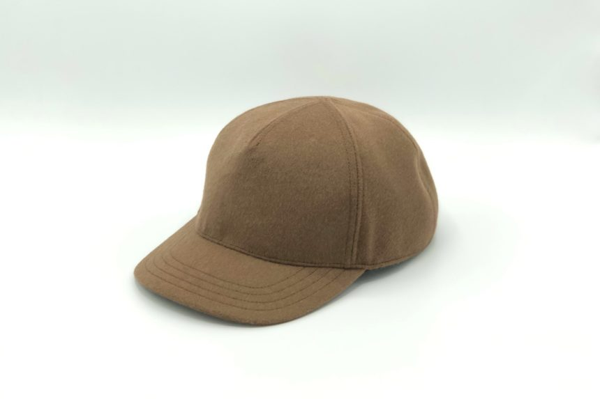 【new】cashmere wool cap(camel)