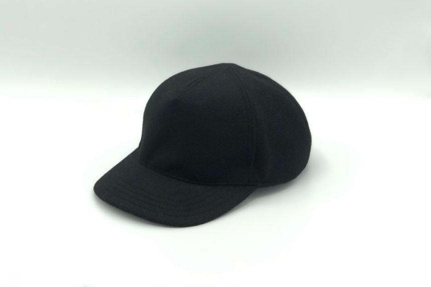 【new】cashmere wool cap(black)